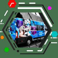 Реклама на транспорте Симферополь